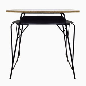Mid-Century Desk by Willy Van Der Meeren for Tubax, 1950s