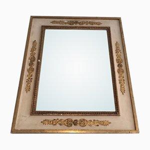 Espejo con marco dorado, años 40