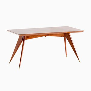 Dining Table in Walnut by Melchiorre Bega, 1950s