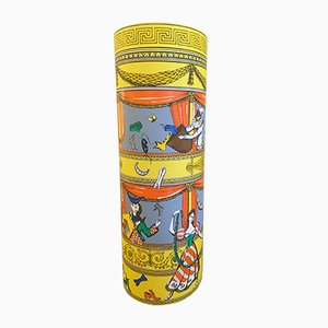 Lámpara de mesa Commedia Italiana de Fornasetti para Antonangeli, años 90
