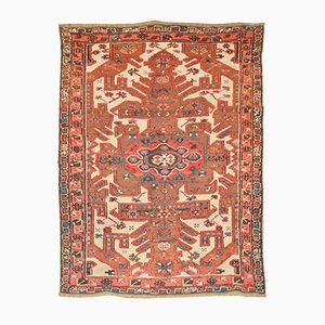 Antique Kazak Caucasian Rug with Geometric Design, 1900s
