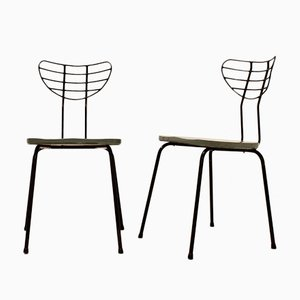 Belgian Chairs 1950s, Set of 2