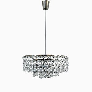 Vintage Crystal Chandelier from Bakalowits