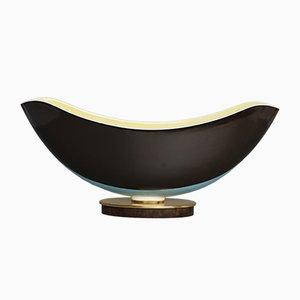 Vaso vintage a forma di barca con fori all'interno di Siegmund Schütz per KPM