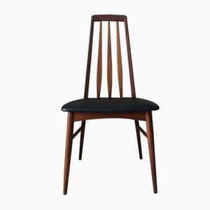 Chaises de Salon Eva Mid-Century en Teck par Niels Kofoed pour Koefoeds Hornslet