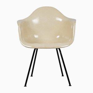 Sedia DAX con base a forma di H di Charles & Ray Eames per Herman Miller, anni '60
