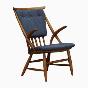 Dänischer Vintage Modell IW2 Sessel aus Buche von Illum Wikkelsø für Niels Eilersen