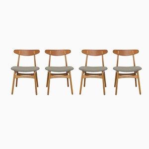 CH30 Stühle von Hans J. Wegner für Carl Hansen & Son, 1950er