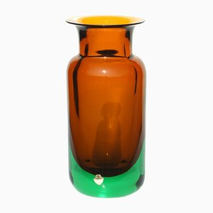 Murano Vase by Flavio Poli for Seguso, 1950s