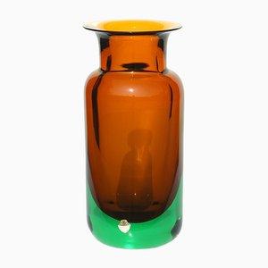 Murano Vase von Flavio Poli für Seguso, 1950er