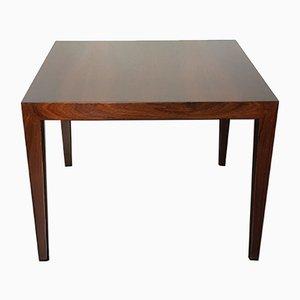 Tavolino da caffè in palissandro di Severin Hansen per Haslev, anni '60