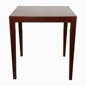 Table Basse en Palissandre par Severin Hansen pour Haslev, Danemark,1960s