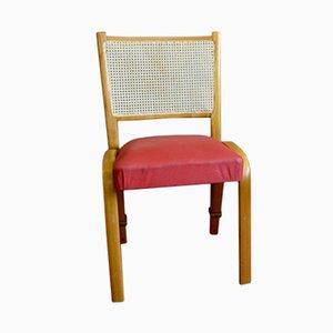 Bow Wood Chair by Wilhelm von Bode for Steiner, 1950s
