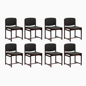Stühle aus Rio Palisander von V-Form, 1963, 8er Set