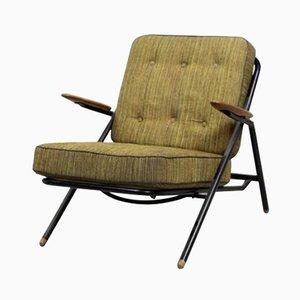 GE215 Sawbuck Chair von Hans Wegner für Getama, 1950er