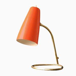 Mid-Century Modern Italian Brass Table Lamp