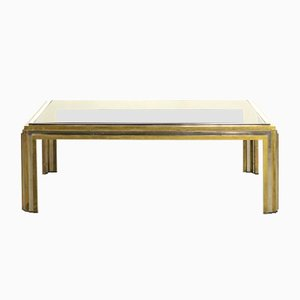 Bicolored Coffee Table from Maison Charles, 1970s