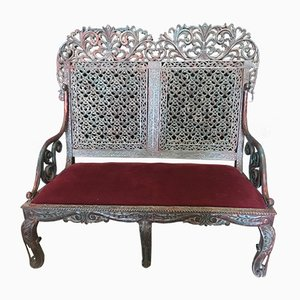 Antique Indian Bench