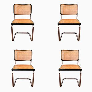 Cesca Side Chairs by Marcel Breuer for Knoll International, 1932, Set of 4