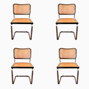 Cesca Stühle von Marcel Breuer für Knoll International, 1932, 4er Set