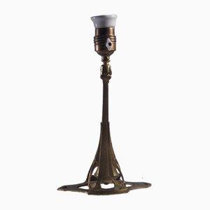 Art Nouveau Combination Lamp, 1900s