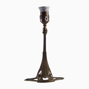 Lampada Art Nouveau, inizio XX secolo