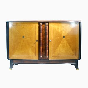 Two-Toned French Art Deco Sideboard, 1940s