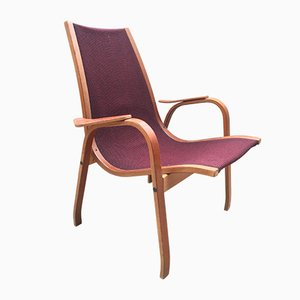 Vintage Swedish Lounge Chair, 1960s
