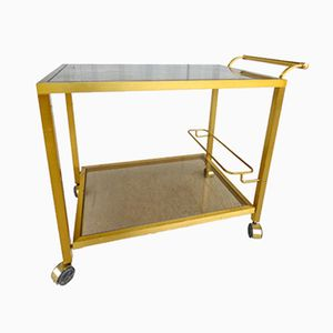 Gilt Serving Trolley, 1970s