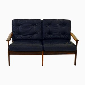 Rosewood 2-Seater Sofa by Illum Wikkelsø for Niels Eilersen, 1960s