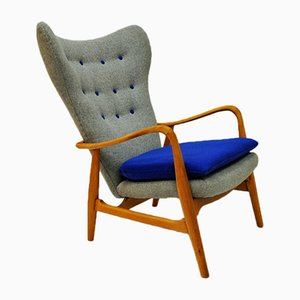 Mid-Century Norwegian Easy Chair by Madsen & Schübel for Vik & Blindheim, 1950s