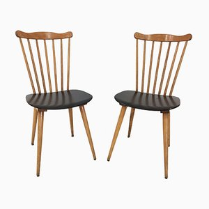 French Menuet Chairs by Joamin Baumann, 1960s, Set of 2