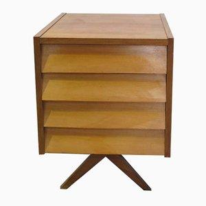 Beistelltisch mit Schubladen von WK Möbel, 1950er