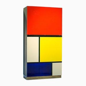 Meuble Mondrian II par Koni Ochsner pour Röthlisberger, 1977