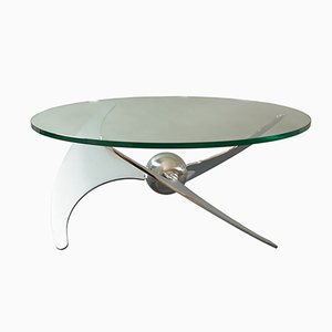 Adjustable Propeller Table by L. Campanini for Cama, 1970s