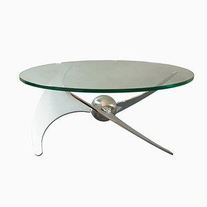 Tavolo Propeller regolabile di L.Campanini per Cama, anni '70