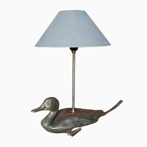 Metal Duck Lamp, 1960s