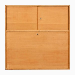Mid-Century Cherry Wall Unit, 1950s