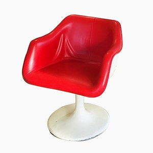 Tulip-Shaped Fiberglass Armchair, 1960s