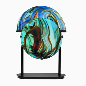 Table Lamp by Missoni for Arte Vetro Murano, 1980s