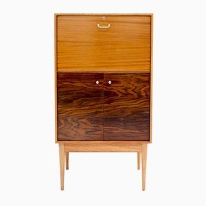 Teak and Rosewood Drinks Cabinet by Uniflex, 1960s