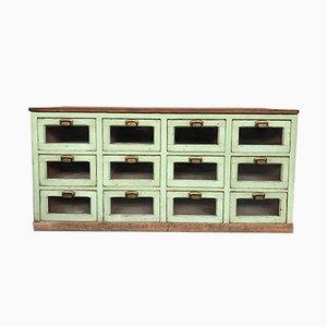 19-Century Industrial Shop Cabinet