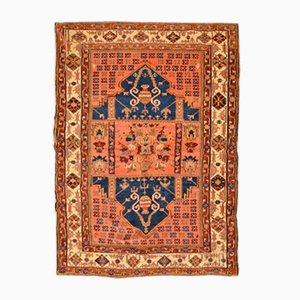 Antiker türkischer Teppich mit Doppelnischen Design aus Anatolien, 1850er