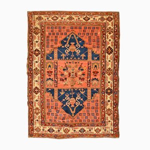 Antique Turkish Anatolia Rug with Double Niche Pattern, 1850s