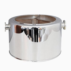 Italian Silver Plated Ice Bucket, 1970s
