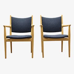 PP 513 Armchairs by Hans J. Wegner for PP Møbler, Set of 4