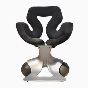 Chaise Roulante par Pierre Colleu pour Groupe Impact Design, 1980s