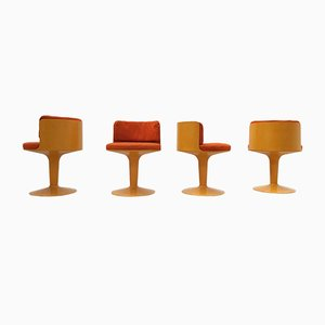 FG 2000 Chairs by Wolfgang Feierbach for FGDESIGN, 1968, Set of 4
