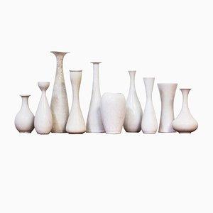 Vases par Carl-Harry Stålhane pour Rörstrand, 1950s, Set de 10