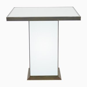 Table d'Appoint en Miroir, France, 1970s